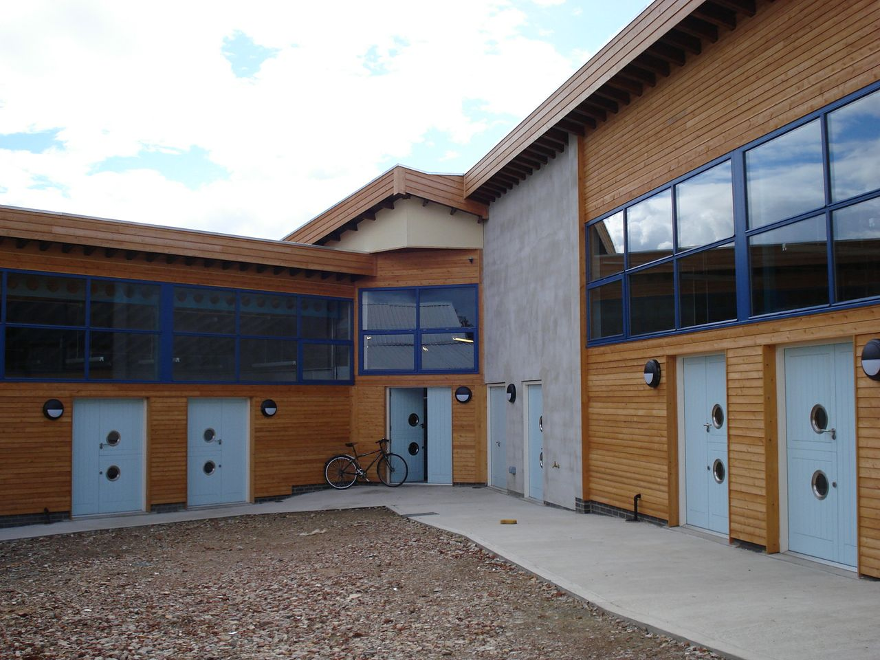Yorkshire Artspace's eco-designed studios at Manor Oaks in Sheffield